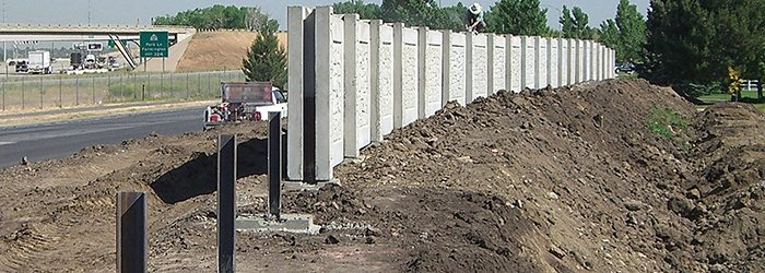 Rigid Footing Support System for Hurricane Fence Walls