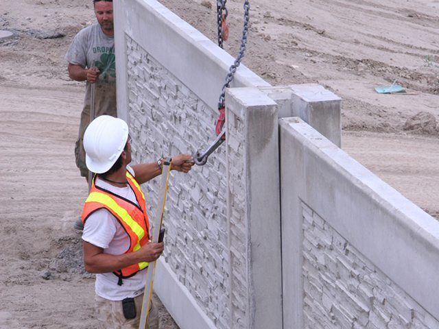 StoneTree® Concrete Fence Wall Installation Process