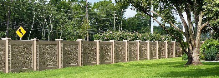 StoneTree® Concrete Perimeter Fence provides easy access after installation>