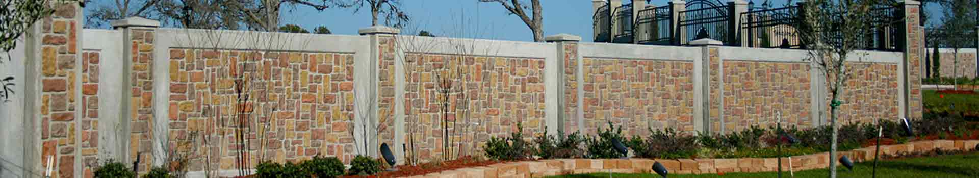 HOA Residental Wall Fencing